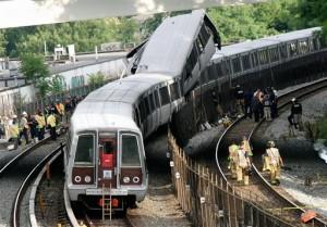 Авария в Вашингтонском метро
