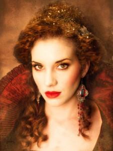 Новогодний макияж - Прекрасная Дама Барокко