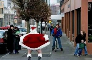 У Деда Мороза должен быть отличный вестибулярный аппарат.