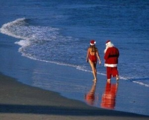 У Деда Мороза есть прикольная телка, но чтобы себя и ее не компрометировать, он называет ее внучкой.