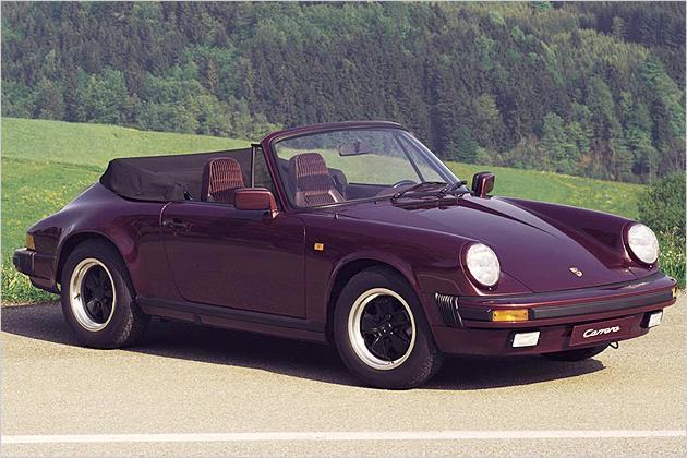 Porsche 911 кабриолет, 1991 года