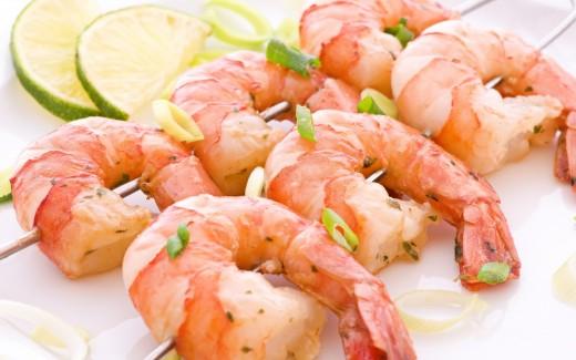 Несколько советов приготовления креветок и кальмаров