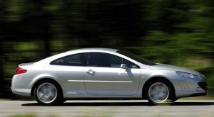 Peugeot 407 Coupe. План: 2500 в год. Продано: 3173 авто за 4 года