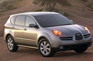 Subaru Tribeca. План: 1000 в год. Продано: 746 авто за 3 года