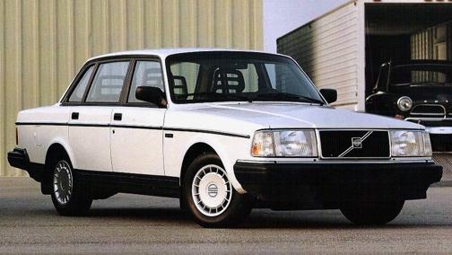 Volvo 240 GL, 1993