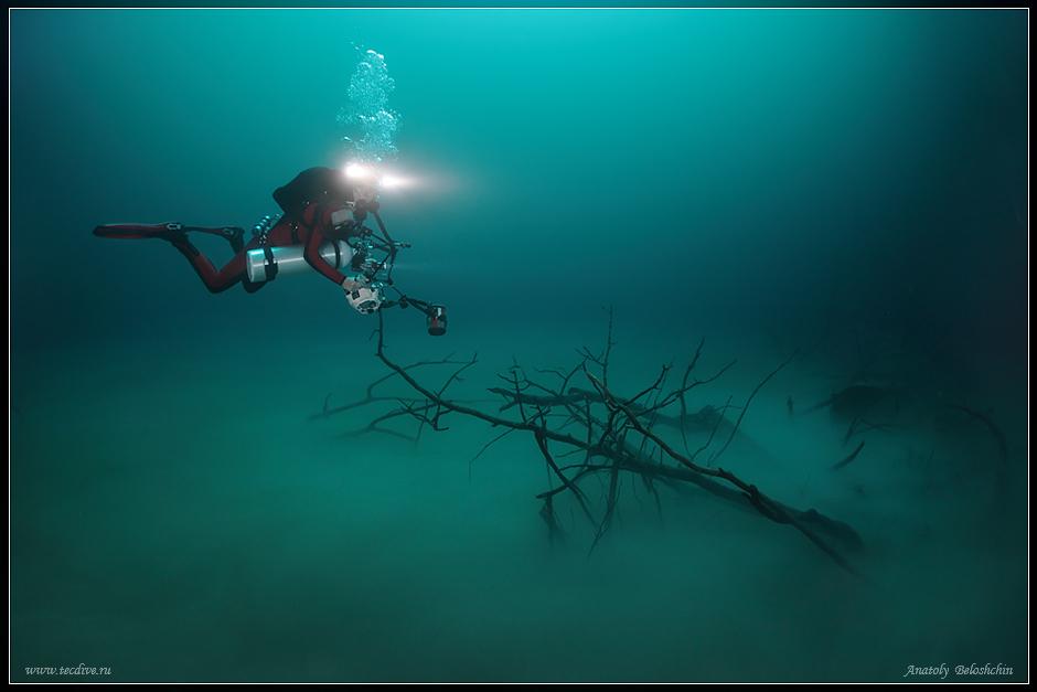 Река под водой