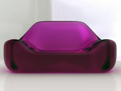 Глянцевый диван