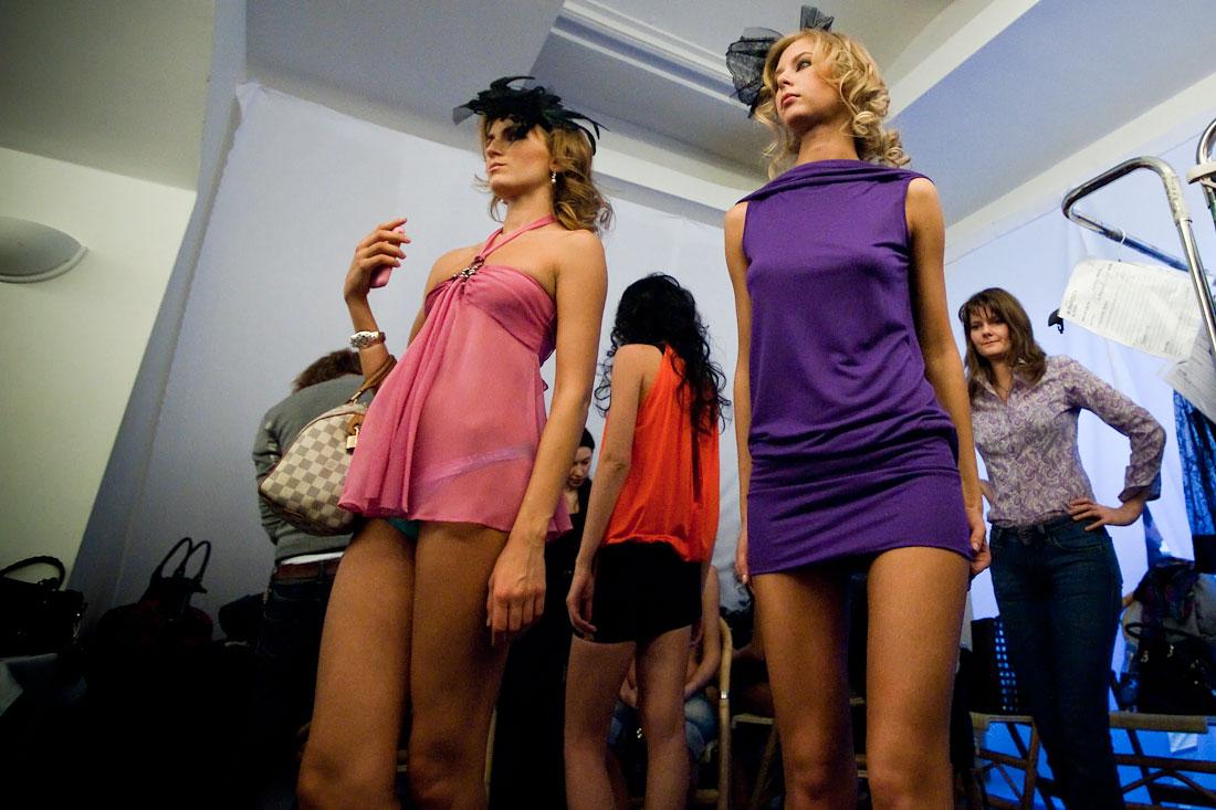 Коллекция женского белья La Perla в ГУМе