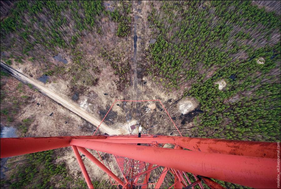 Высота уже 170 метров, еще 100 метров подъема