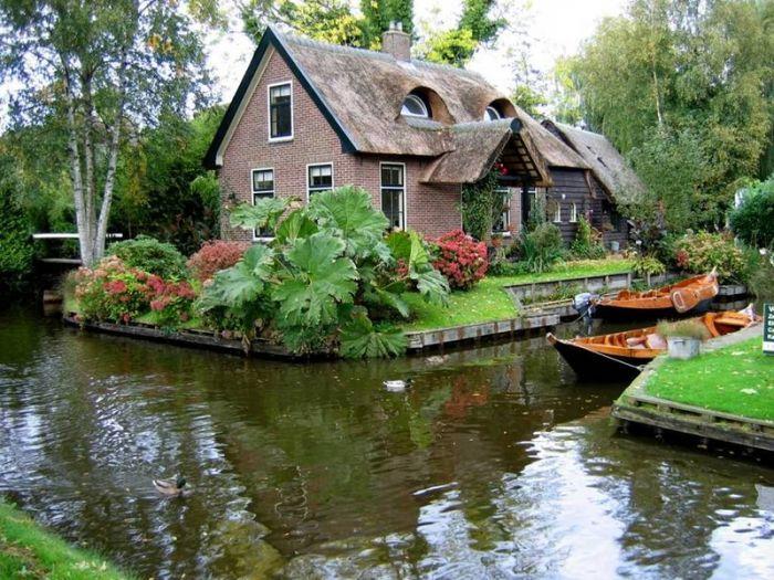 Гитхорн - Голландская Венеция