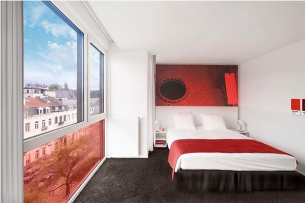 Гостиница Pantone на Луиза-авеню в Брюсселе