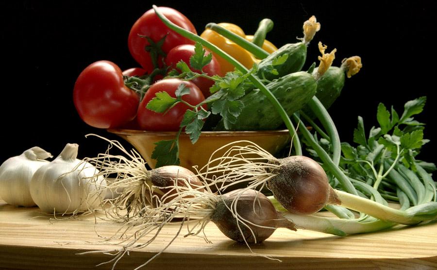 Овощи полезнее фруктов
