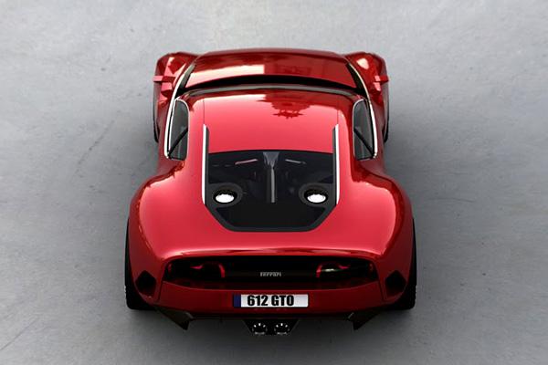 Концепт Ferrari 612 GTO