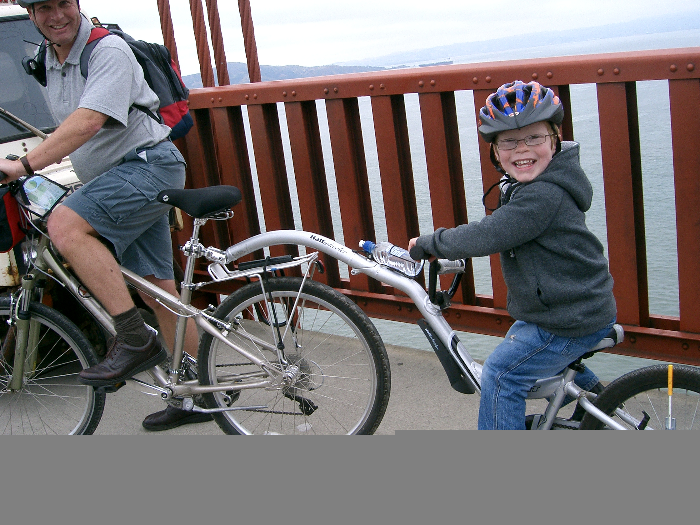 Велосипед трейлер