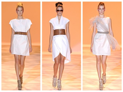 Модные женские ремни 2011 года