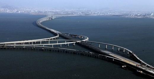 В Китае состоится открытие моста длиной 43 км