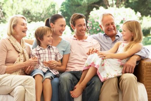 Семья - «общежитие»