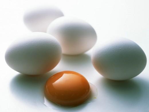 Желтки куриных яиц обладают сильными антиоксидантными свойствами