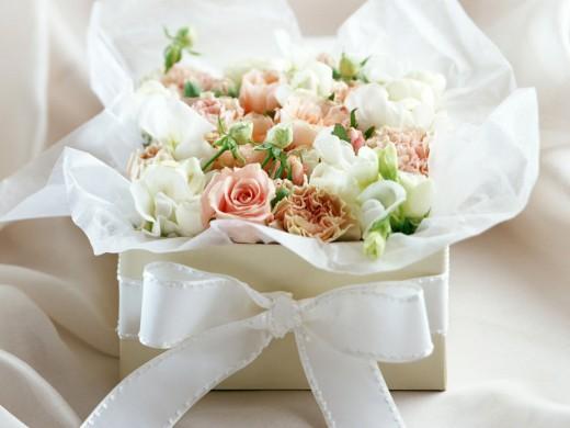 Утренний букет цветов