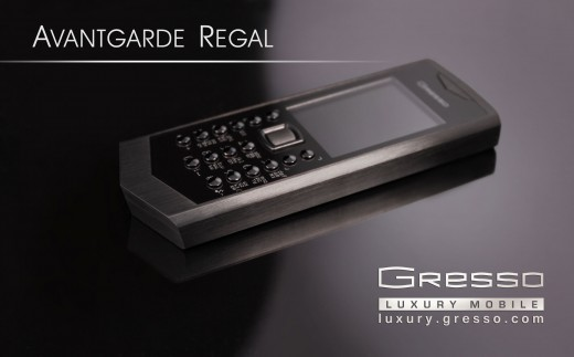 Gresso Regal Black – титан и черное стекло