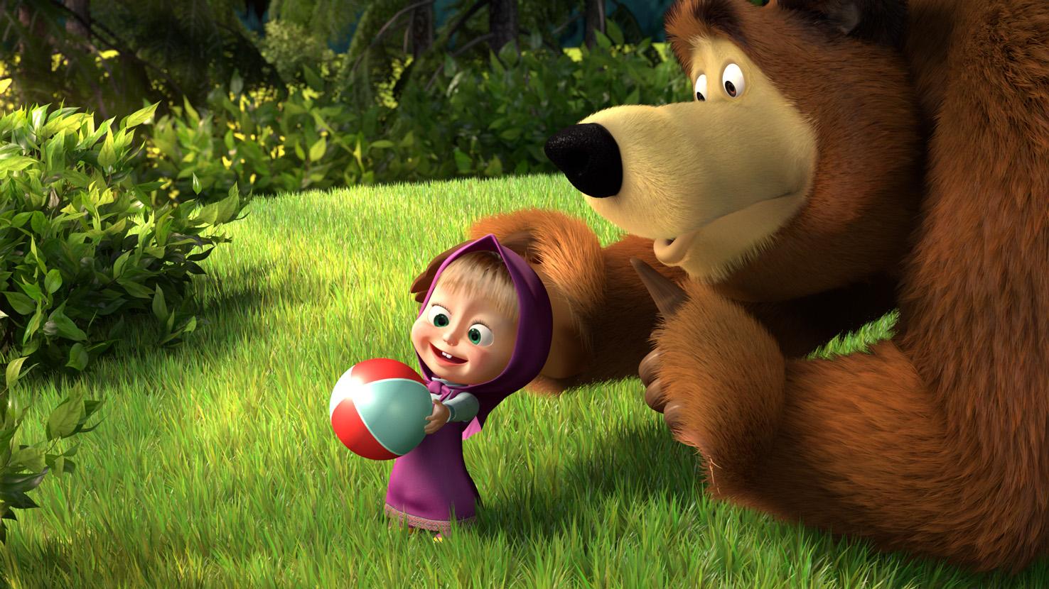 Новые мультфильмы маша и медведь
