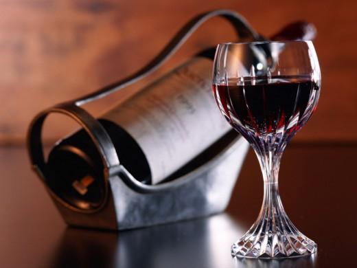 Красное вино полезнее кефира