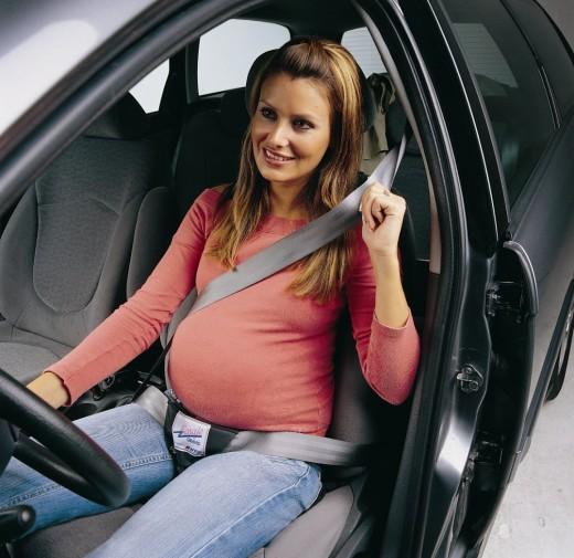 Советы беременным за рулем