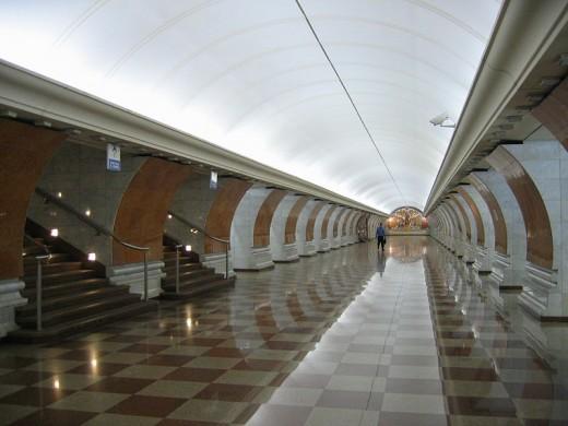 Московское метро построят из стекла