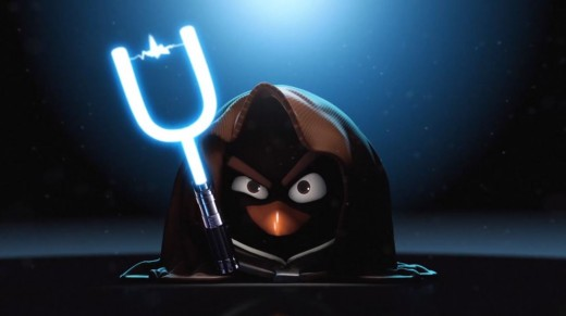 Angry Birds начинают Star Wars