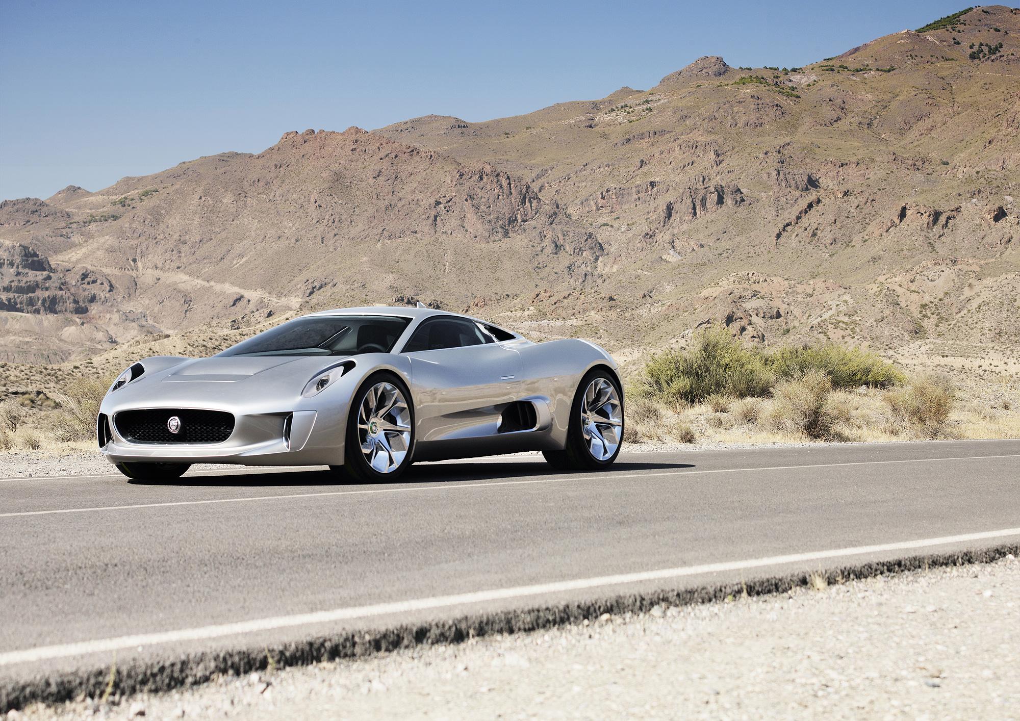 Технологии супер-гибрида Jaguar C-X75 используют в серийных моделях