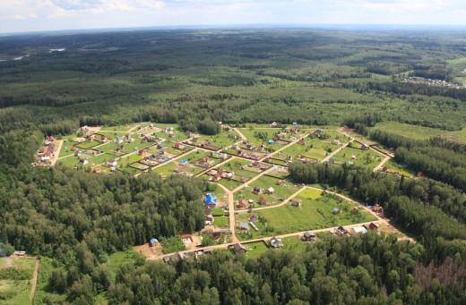 В каком районе купить земельный участок?