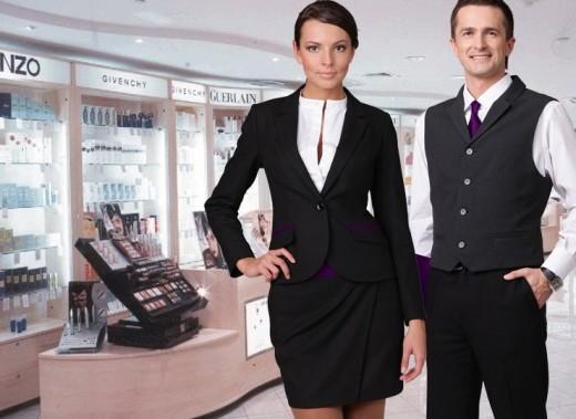 Специальная одежда для продавцов