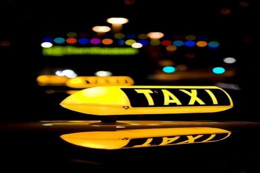 Разноцветный мир такси