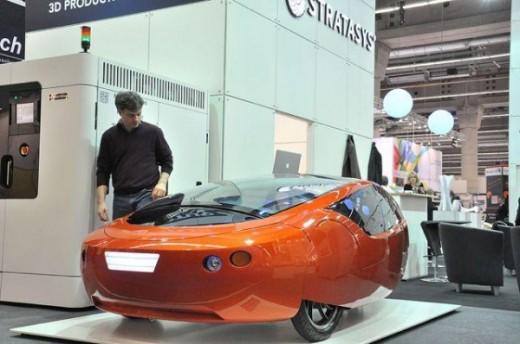 В мире появился автомобиль, распечатанный на 3D-принтере