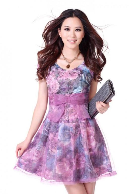 Платья из шифона всегда в моде!