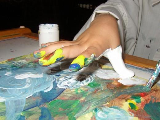 Рисуют всем! Нетрадиционные техники рисования