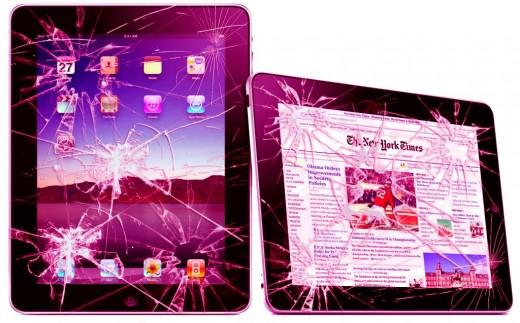 Ремонт iPad (замена стекла)