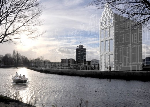 В Амстердаме появится дом, напечатанный на 3D-принтере