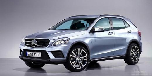 Mercedes-Benz GLA – семейный кроссовер для города и бездорожья