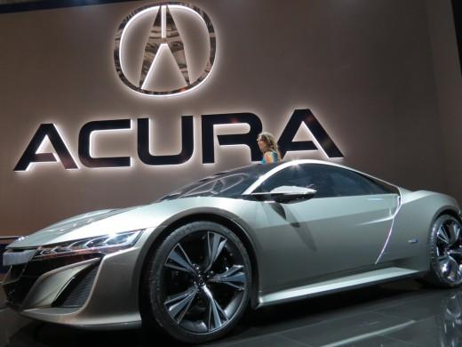 История бренда Acura