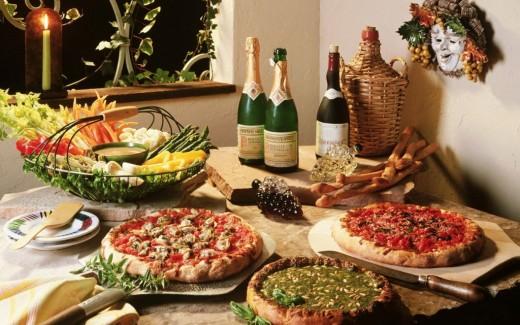 Итальянская кухня и ее шедевры