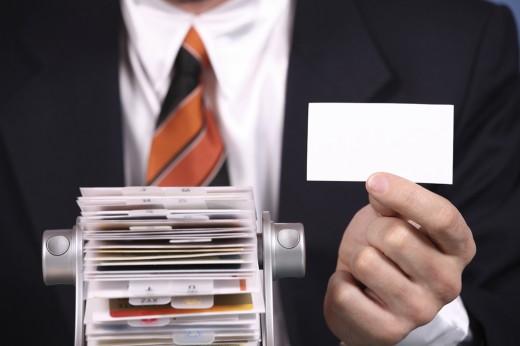 А у вас есть визитка?