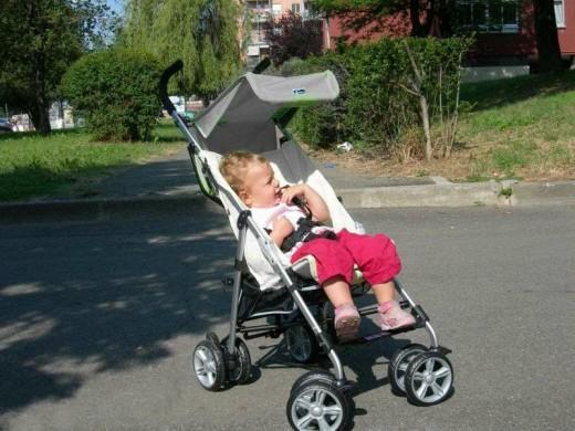 «Мамин городок»: что может быть лучше коляски-трости?
