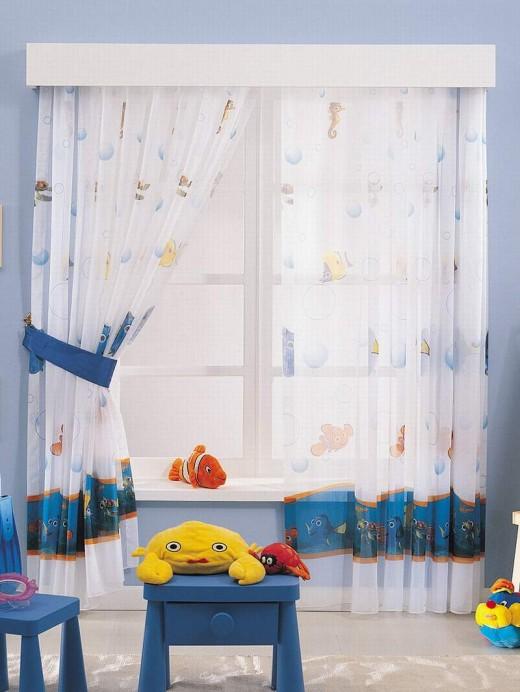 Шторы в детскую комнату: учитываем тонкости выбора
