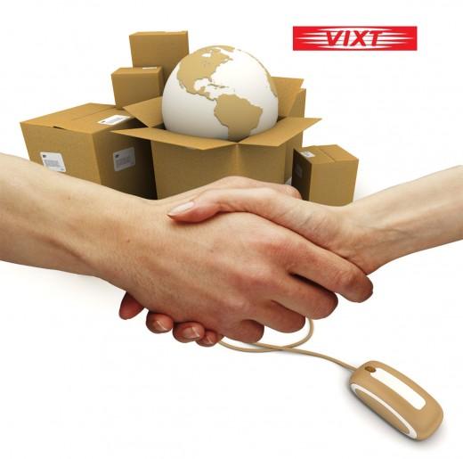 Услуги курьерской доставки для интернет-магазинов от VIXT