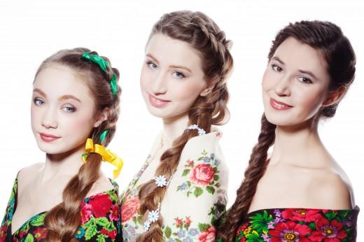 Русская краса – это коса