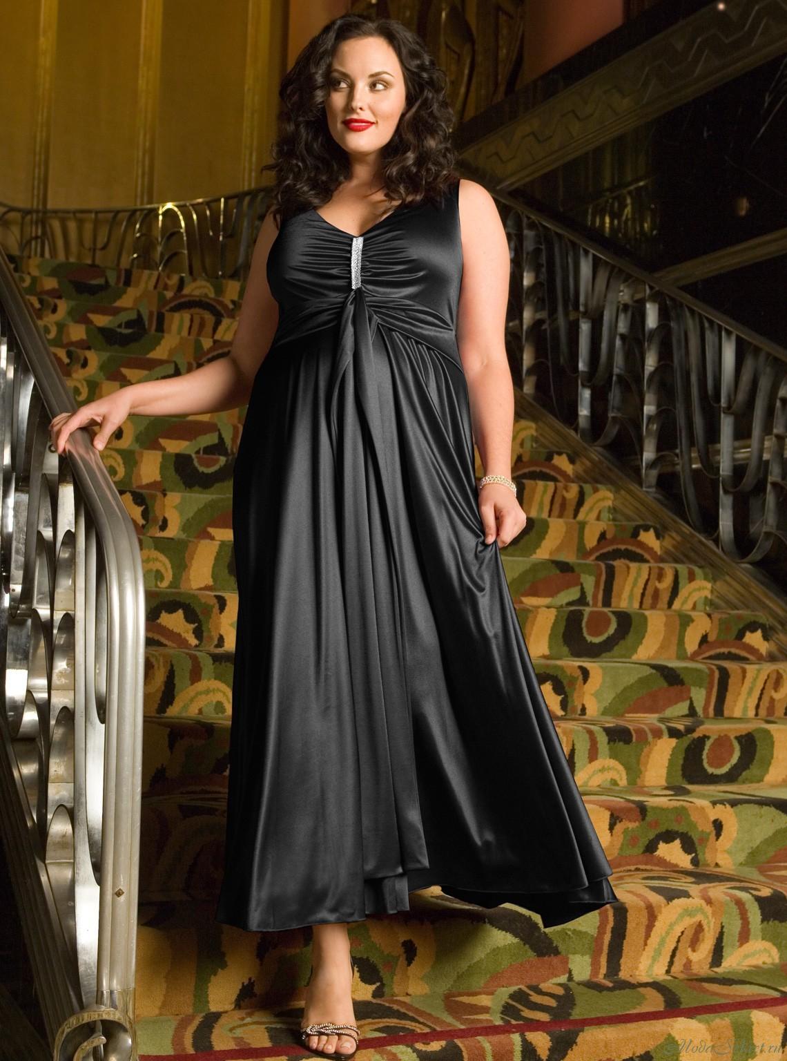 a8e8e3dab2e321e Секреты выбора вечернего платья для полных женщин - Моя газета | Моя ...