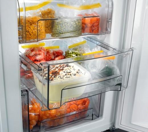 Подготовка и хранение продуктов в морозильной камере