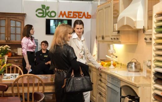 «Кухни-стенки.ру» приняли участие в  Международной выставке мебели