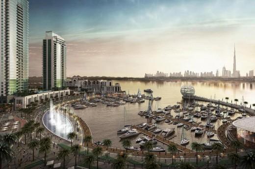 В Дубае возводят первый в мире город с искусственным климатом